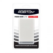 Power Bank Robiton Li7.8-K 7800мАч белый (внешний аккумулятор) 1шт