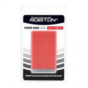 Power Bank Robiton Li7.8-K 7800мАч красный (внешний аккумулятор) 1шт