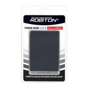 Power Bank Robiton Li13.4-K 13400мАч черный (внешний аккумулятор) 1шт