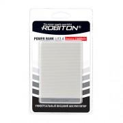 Power Bank Robiton Li13.4-K 13400мАч белый (внешний аккумулятор) 1шт