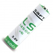 Специальная литиевая батарейка Saft LS 14500 2600 мАч 3,6В AA