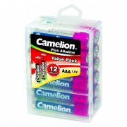 Батарейка Camelion Plus Alkaline 10647 AAA LR03 алкалиновая 1,5В 12шт