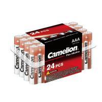 Батарейки Camelion Plus Alkaline 7615 AAA LR03 алкалиновые 1,5В 24шт
