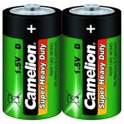 Батарейка Camelion Super Heavy Duty 1662 D R20 солевая 1,5В 12шт