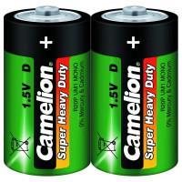 Батарейка Camelion Super Heavy Duty 1662 D R20 солевая 1,5В 1шт