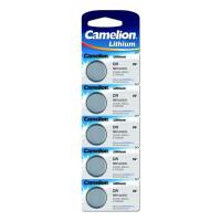 Батарейки Camelion 1594 CR2025 3В дисковые литиевые 5шт