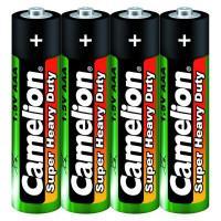 Батарейка Camelion Super Heavy Duty 1659 AAA R03 солевая 1,5В 4шт