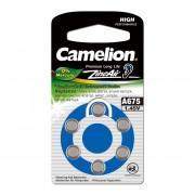 Батарейка Camelion 12826 A675 PR44 1,45В для слухового аппарата 6шт