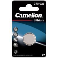 Батарейка Camelion 5228 CR1025 3В дисковая литиевая 1шт