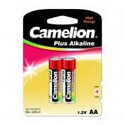 Батарейки Camelion Plus Alkaline 1652 AA LR6 алкалиновые 1,5В 2шт