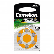 Батарейка Camelion 12824 A13 PR48 1,45В для слухового аппарата 6шт