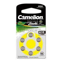Батарейка Camelion 12823 A10 PR70 1,45В для слухового аппарата 6шт