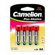 Батарейки Camelion Plus Alkaline 7370 AA LR6 алкалиновые 1,5В 4шт