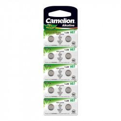 Батарейка Camelion 12815 AG7 LR926 395 1,5В дисковая алкалиновая 1шт