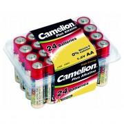 Батарейки Camelion Plus Alkaline 6752 AA LR6 алкалиновая 1,5В 24шт