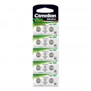 Батарейка Camelion 12816 AG8 LR1120 391 1,5В дисковая алкалиновая 1шт