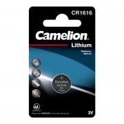 Батарейка Camelion 3070 CR1616 3В дисковая литиевая 1шт