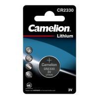 Батарейка Camelion 3074 CR2330 3В дисковая литиевая 1шт