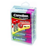 Батарейка Camelion Plus Alkaline 10648 AA LR6 алкалиновая 1,5В 12шт