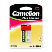 Батарейка Camelion 1655 6LF22 Крона алкалиновая 9В 1шт