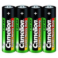 Батарейка Camelion Super Heavy Duty 1660 AA R6 солевая 1,5В 4шт