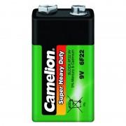 Батарейка Camelion 1663 6F22 Крона солевая 9В 1шт