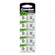 Батарейка Camelion 12819 AG11 LR721 362 1,5В дисковая алкалиновая 1шт