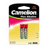 Батарейки Camelion Plus Alkaline 1651 AAA LR03 алкалиновые 1,5В 2шт