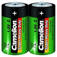 Батарейка Camelion Super Heavy Duty 1661 C R14 солевая 1,5В 2шт