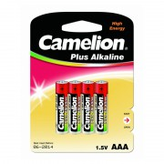 Батарейки Camelion Plus Alkaline 7369 AAA LR03 алкалиновые 1,5В 4шт