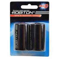 Адаптер для аккумуляторов и батареек AA-D 2шт Robiton