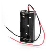 Батарейный отсек с проводами ROBITON Bh2xAAA для двух батареек или аккумуляторов размера ААА и 10440