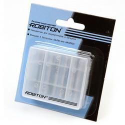 Бокс для аккумуляторов и батареек 4xAA / 4xAAA Robiton