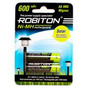 Ni-Mh аккумуляторы Robiton Solar AA 600мАч 2шт