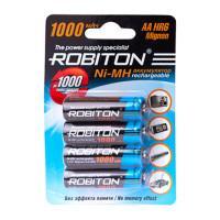 Ni-Mh аккумуляторы Robiton AA 1000мАч 4шт