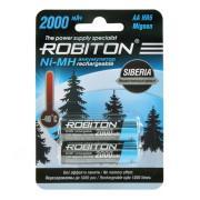 Ni-Mh аккумуляторы Robiton Siberia AA 2000мАч 2шт