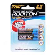 Ni-Mh аккумуляторы Robiton AA 2200мАч 2шт