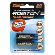 Аккумуляторы Ni-Mh металлогидридные Robiton 2850MHAA AA 2850 мАч 1,2 В 2шт