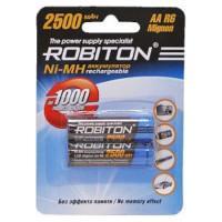 Аккумуляторы Ni-Mh металлогидридные Robiton 2500MHAA AA 2500 мАч 1,2 В 2шт