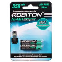 Ni-Mh аккумуляторы Robiton Dect AAA 550мАч 2шт