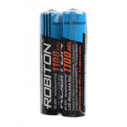 Аккумуляторы Ni-Mh металлогидридные Robiton 1100MHAAA AAA 1100 мАч 1,2 В 2шт