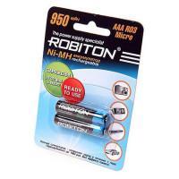 Ni-Mh аккумуляторы Robiton AAA 950мАч 2шт