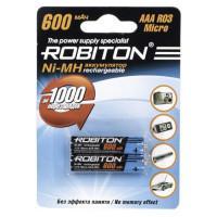 Ni-Mh аккумуляторы Robiton AAA 600мАч 2шт