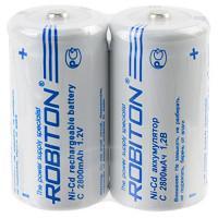 Аккумуляторы Ni-Cd никель-кадмиевые Robiton 2800NCC high top SR2 C 26500 2800 мАч 1,2 В 2шт