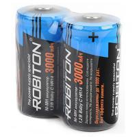 Аккумуляторы Ni-Mh металлогидридные Robiton 3000MHC HR14 C 3000 мАч 1,2 В 2шт
