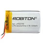 Аккумулятор Li-Po Robiton 503759 1200мАч