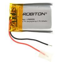 Аккумулятор литий-полимерный Li-Pol Robiton 602030 3,7В 300мАч
