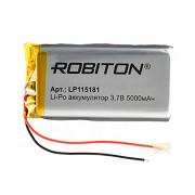 Аккумулятор литий-полимерный Li-Pol Robiton 115181 3,7В 5000мАч