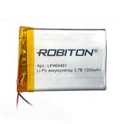 Аккумулятор литий-полимерный Li-Pol Robiton 464461 3,7В 1300мАч