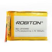 Аккумулятор литий-полимерный Li-Pol Robiton 103450 3,7В 1800мАч
